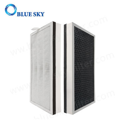 3 in 1 Honeycomb Active Carbon Panel True HEPA Filters for Medify MA-40 Air Purifiers