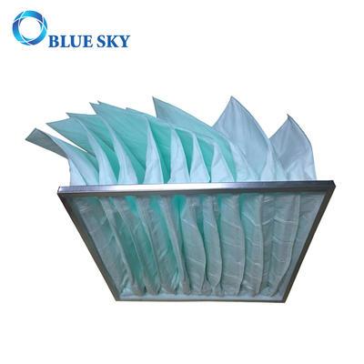 Middle Efficiency Synthetic Fiber Pocket Air Filter Bag for HVAC System